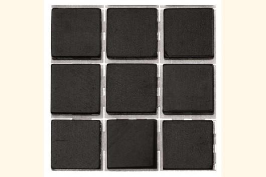 selbstklebendes kunststoff mosaik schwarz 1x1 cm 63 stk 41221 mosaik shop selbstklebendes mosaik. Black Bedroom Furniture Sets. Home Design Ideas
