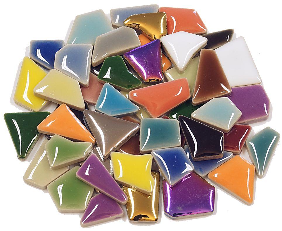 Flip keramik mini mix farben mosaik mosaiksteine for Mosaik fliesen frostsicher