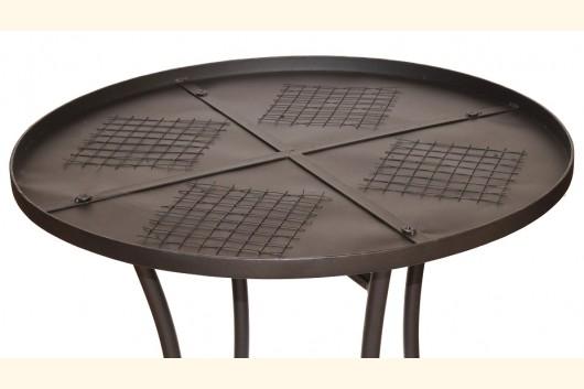 mosaik tisch rund durchmesser 60 cm tischrohling h0220. Black Bedroom Furniture Sets. Home Design Ideas