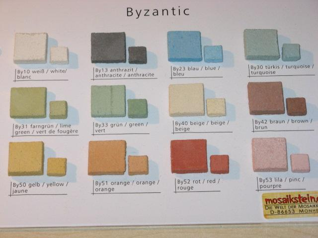 byzantic mosaik 1x1 cm mosaik mosaiksteine glasmosaik glasnuggets mosaic bastelmaxi shop. Black Bedroom Furniture Sets. Home Design Ideas