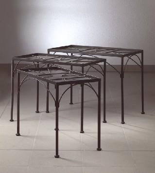 tisch 3er set mit geraden beinen f r mosaiksteine ebay. Black Bedroom Furniture Sets. Home Design Ideas