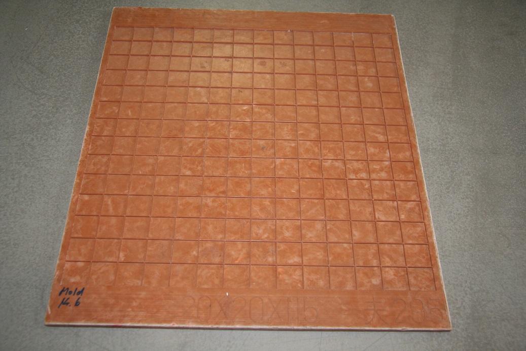 Mosaikrahmen 30x30 cm für 2x2cm Steine Mosaik Rahmen DM-MRN322 | eBay