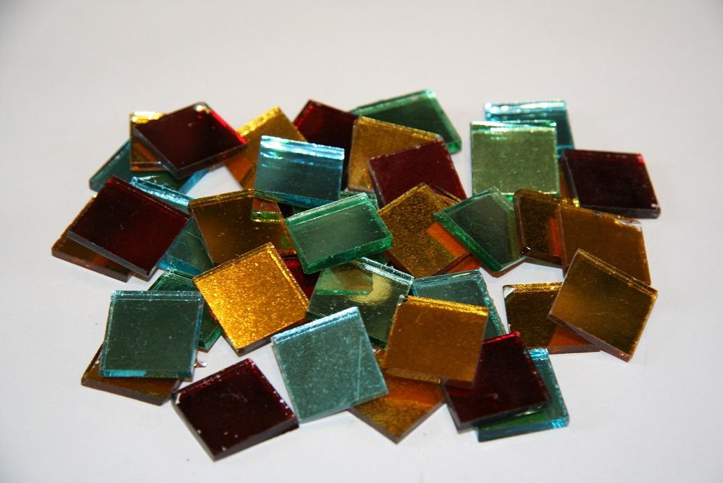 2x2 spiegelmosaik bunte mischung 40 stk g562 mosaik shop spiegelmosaik - Mosaiksteine spiegel ...