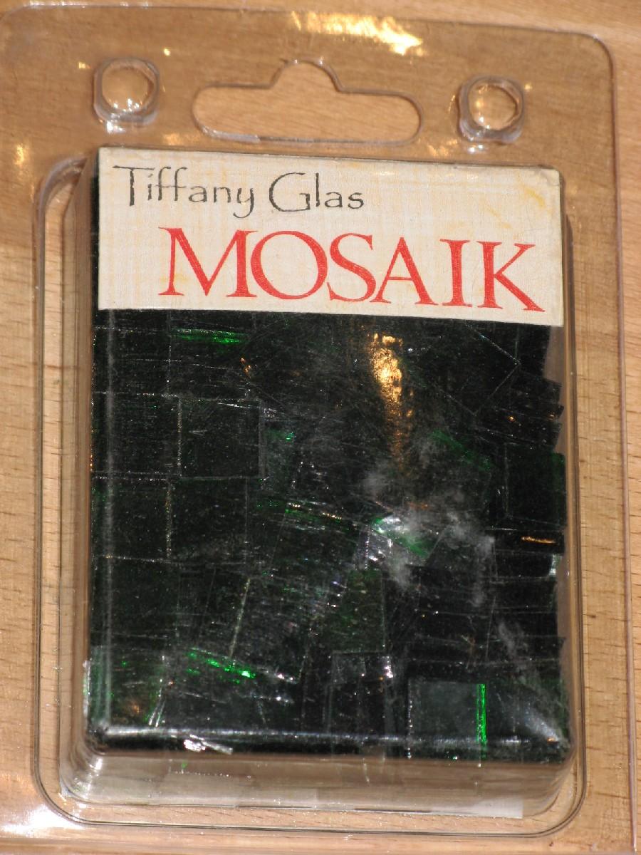 TIFFANY Glas Mosaik 1,5x1,5cm TRANSPARENT SMARAGD T53-15 Mosaik Shop ...