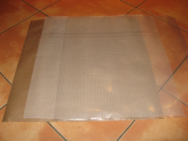 Mosaik netz zum aufkleben der mosaiksteine 50x50cm 4260013482613 ebay for Mosaik fliesen zum aufkleben