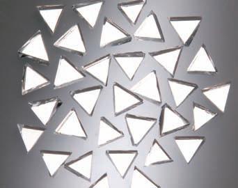 spiegelmosaik dreieck 10x10 mm 100g dicke 2mm 48002 ebay. Black Bedroom Furniture Sets. Home Design Ideas