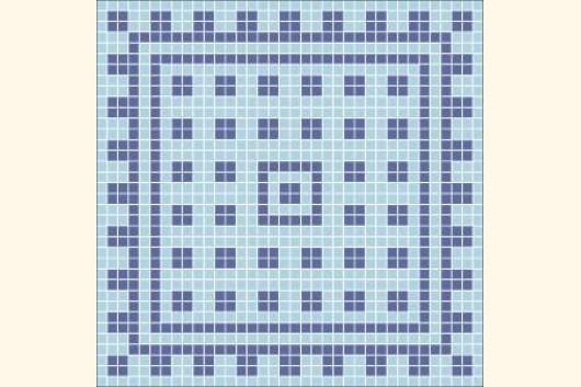 mosaik vorlage roman iii 60x60cm incl kohlepapier v1305. Black Bedroom Furniture Sets. Home Design Ideas