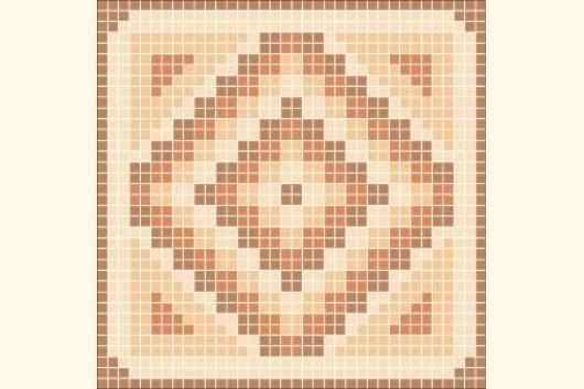 Mosaik Vorlage MALTA I 60x60cm incl. Kohlepapier V1307 Mosaik Shop ...