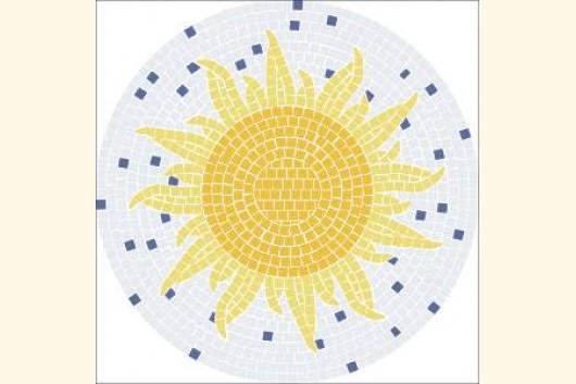 Mosaiktisch Tisch Aus Mosaik Selber Machen Made By Myself 5